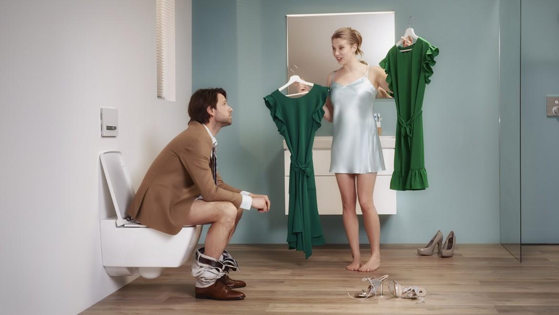 Geberit DuoFresh - Het stankvrije toilet