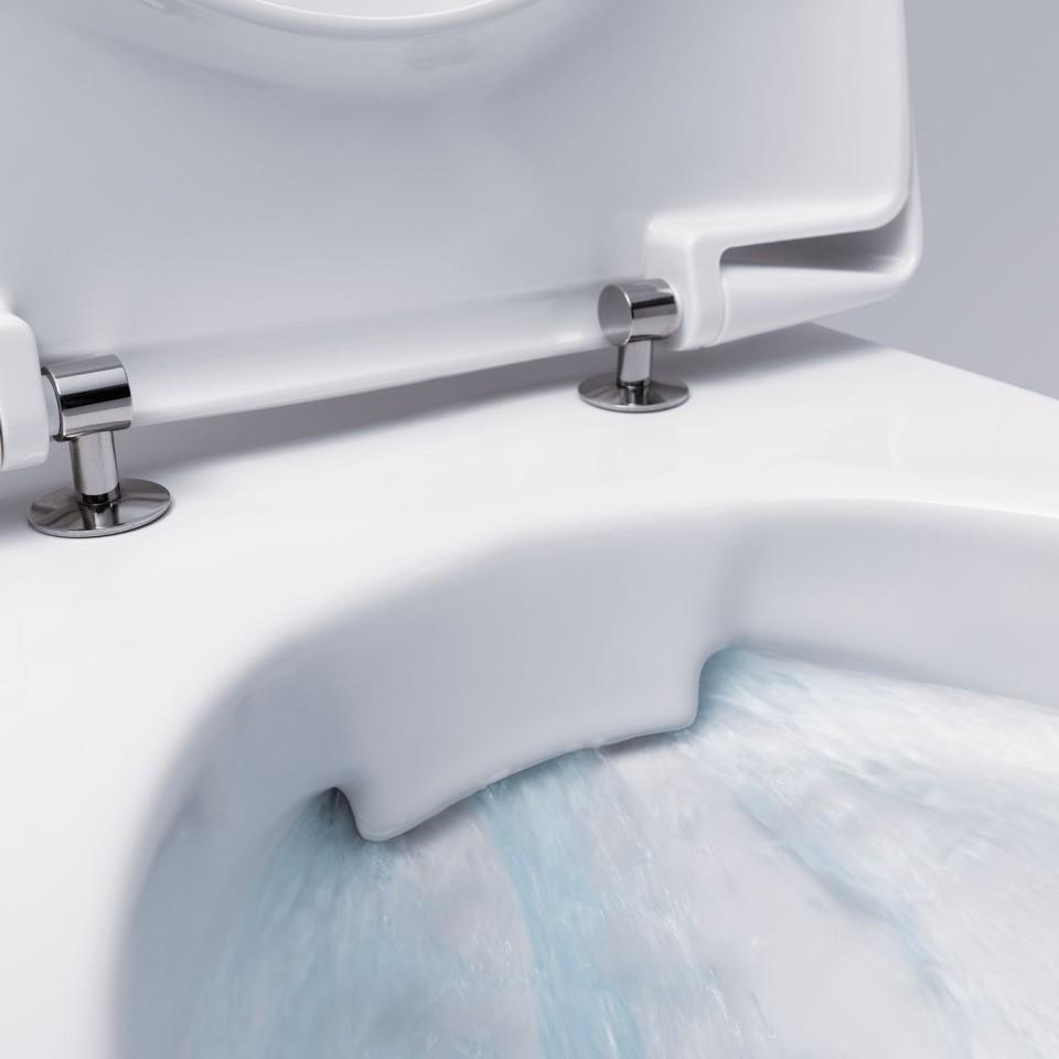 WC zonder spoelrand