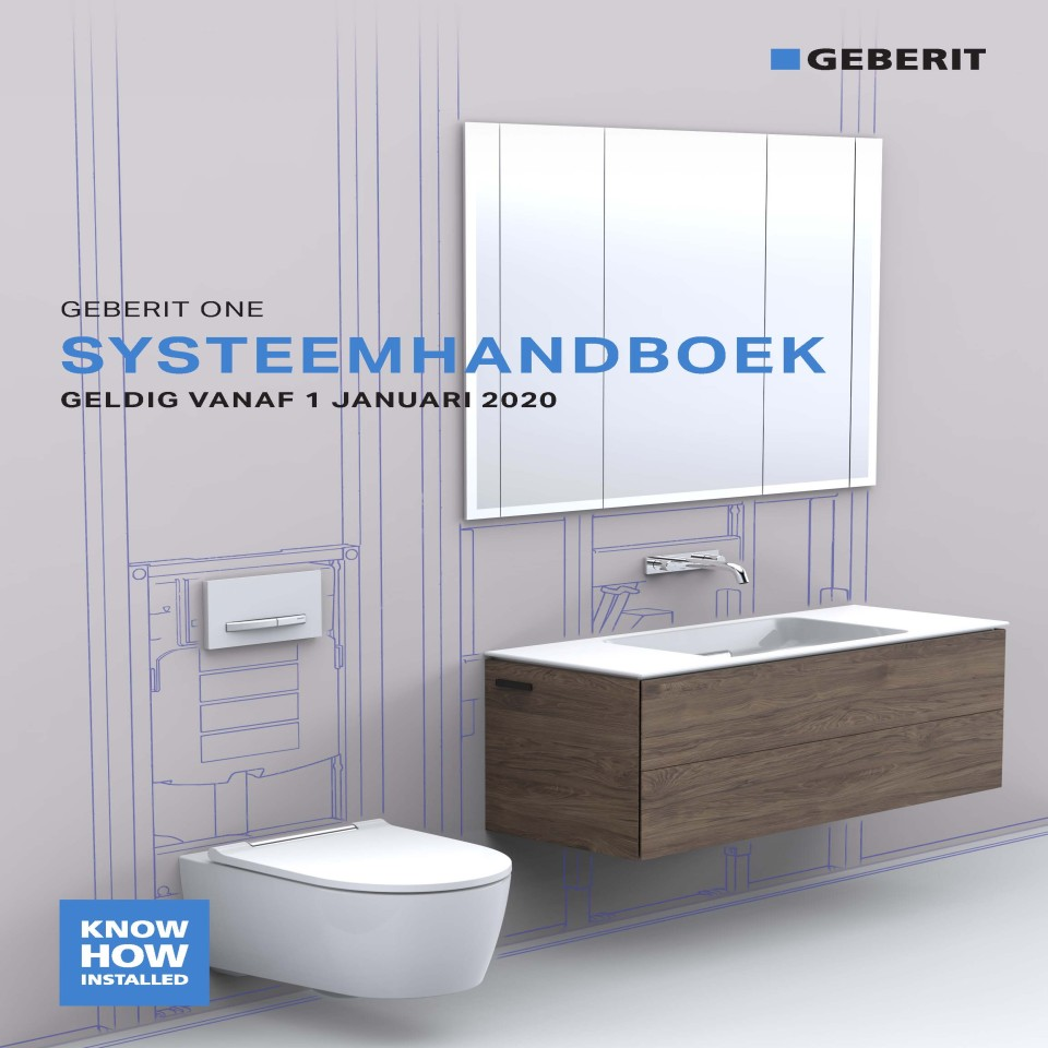 Systeemhandboek Geberit ONE